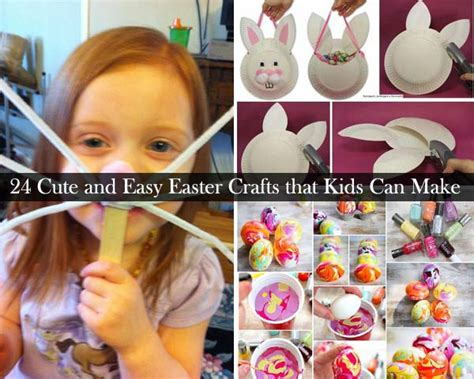 easy easter decorations to make at home easter crafts for kids 0