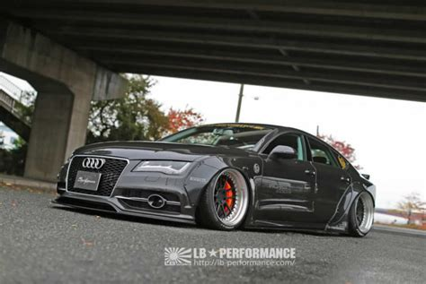 Audi A7 Performance Upgrades by Audi A7 S7 Receive Styling Upgrades From Liberty Walk