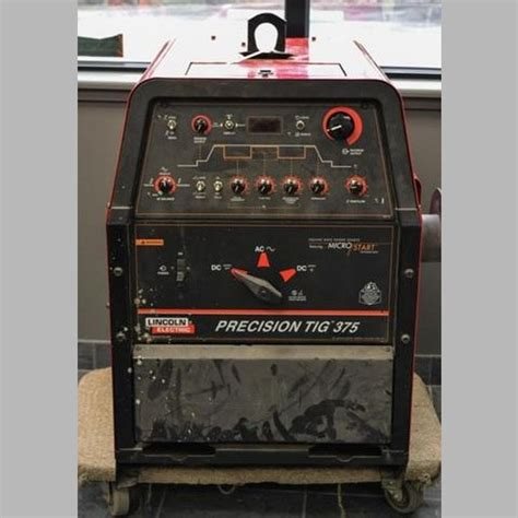 used lincoln welder for sale used lincoln precision tig 375 welder for sale lincoln