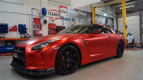 nissan gtr wrapped red gt r register nissan skyline and gt r drivers club forum