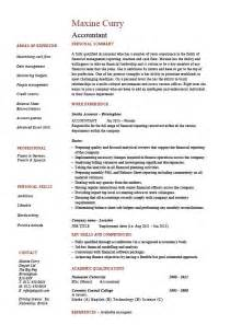 Accounting Resume Template by Accounting Resumes Resume Format Pdf