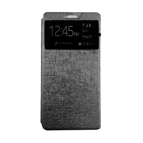 jual ume usa flip cover for lenovo p70 hitam