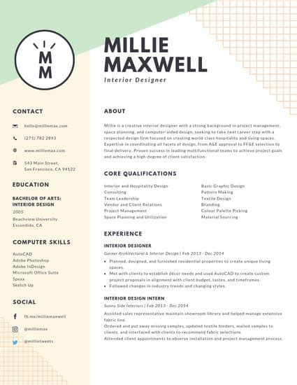 customize  creative resume templates  canva