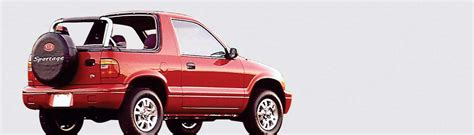 Kia Sportage Soft Top 1996 Thru 2002 Kia Sportage Convertible Tops And