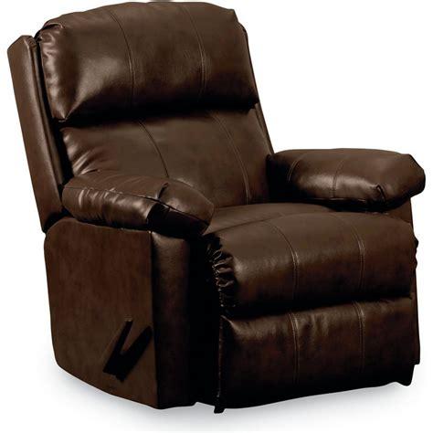 lane leather recliner chairs lane timeless rocker relciner 499 00