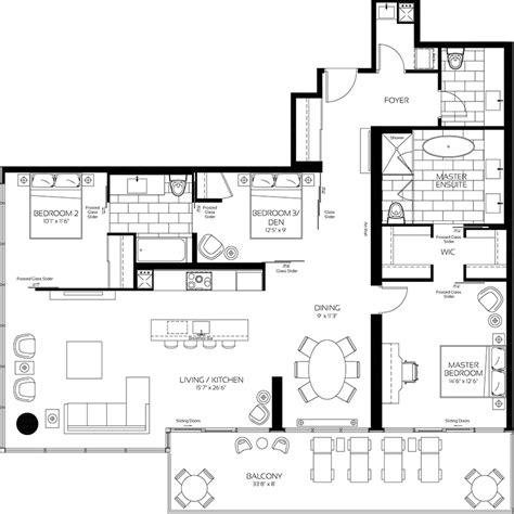 820 fifth avenue floor plan 488 university avenue condo floor plans