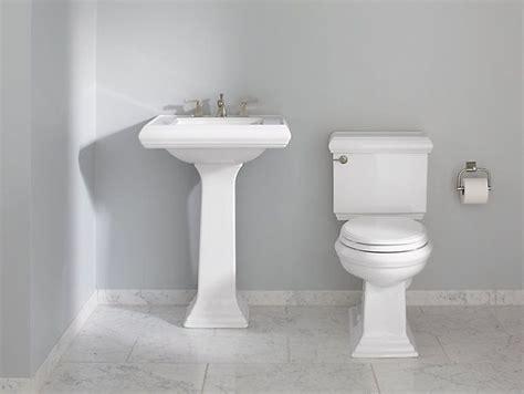 kohler memoirs classic memoirs pedestal sink with classic design 8 inch centers k 2238 8 kohler