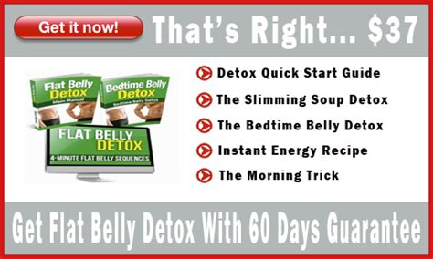 The Flat Belly Detox Formula by Flat Belly Detox Review 2017 Secret Finally