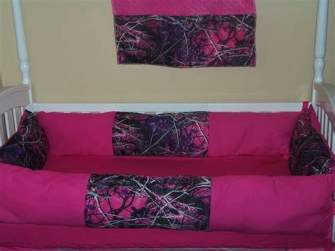 muddy girl camo bedding muddy girl 4 piece crib bedding set hot pink by