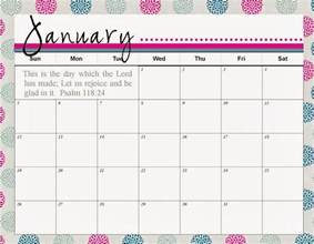 Calendar With Pictures Template by 2017 January Calendar Template Calendar Template