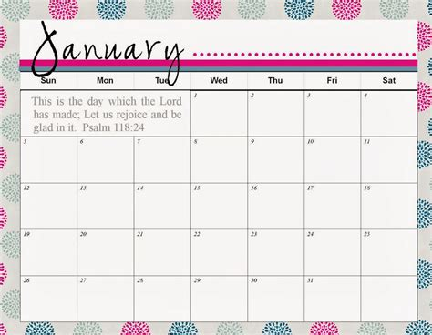 printable monthly agenda planner january 2017 calendar printable template 3 for kids