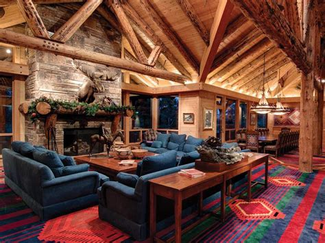 22 luxurious log cabin interiors you have to see log ski house of the day march 2012