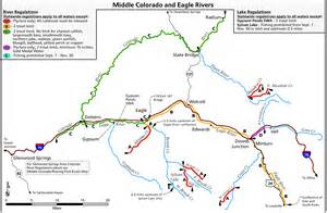 colorado fly fishing map eagle river great fishing on your big scouting trip