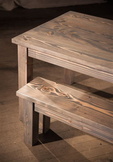 solid wood kitchen table farmhouse table in classic grey solid wood furniture