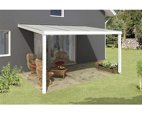 toiture pour terrasse skan holz genua 434x357 cm blanc