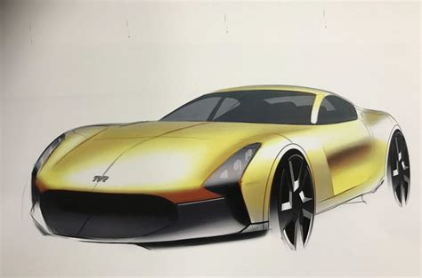 tvr new car new tvr v8 sports car to use manual gearbox autocar