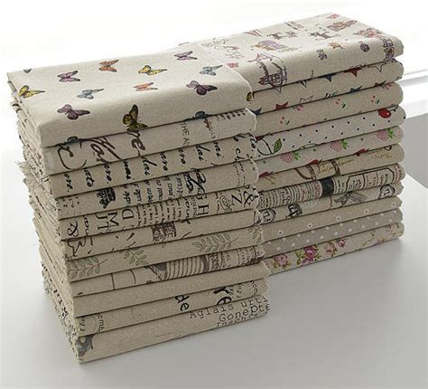 sheet fabric types 16 types daisy rural floral fabric printed cotton linen fabric