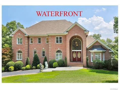 waterfront homes for sale in chesterfield county va