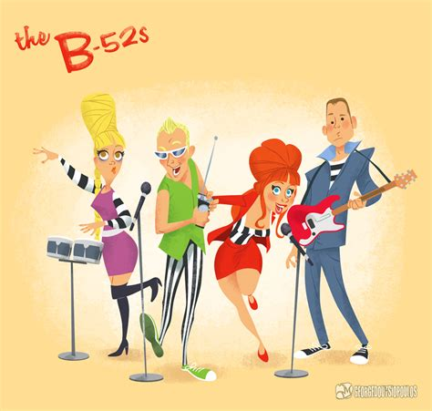 the b the b 52s by georged on deviantart