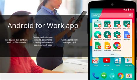 android for work android for work la nueva suite empresarial de android