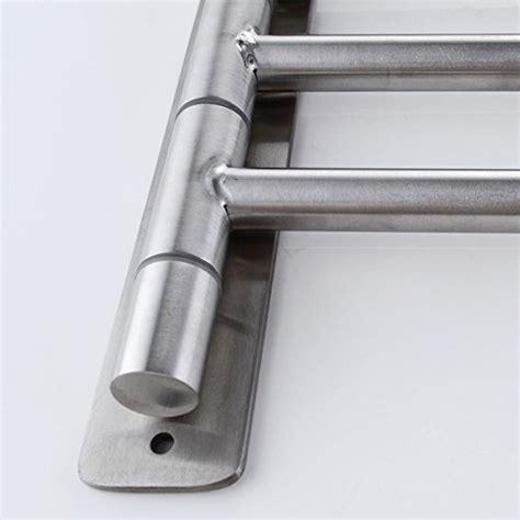 swing arm shelf kes bathroom swing arm towel bars 3 arm wall mount swing