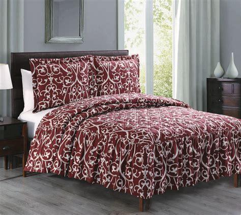 maroon bedspreads litchfield burgundy bedspread set