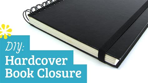 how to your picture book diy hardcover elastic band book closure sea lemon