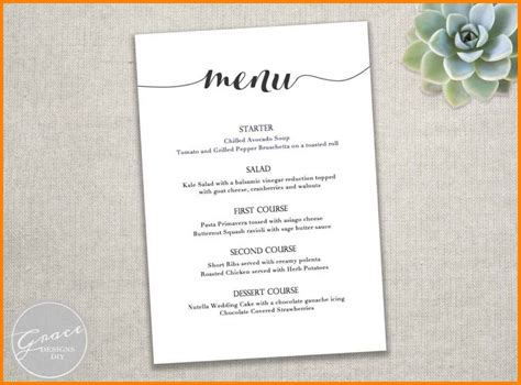 resume 43 recommendations party menu template full hd wallpaper