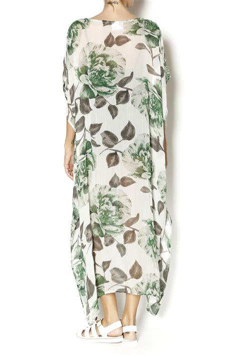 Ramia Maxi Gandena Maxi ganni gardena georgette dress from williamsburg by concrete water shoptiques