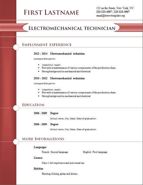 Sample Resume Template – Sample Resume Template   learnhowtoloseweight.net