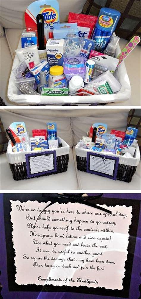 Wedding Bathroom Basket Ideas by 25 Best Ideas About Wedding Bathroom Baskets On Pinterest