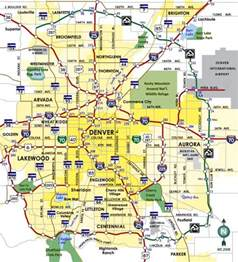 of colorado denver map denver map free printable maps