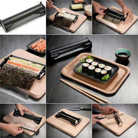Tupperware Rock N Roll Sushi Maker 5 useful easy sushi makers you can buy web cool tips