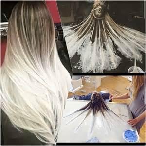 fluid hair painting t 233 cnica tend 234 ncia ombr 233 hair