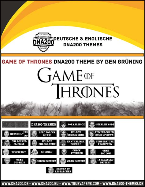 themes dna 250 game of thrones dna200 theme themes and custom screens