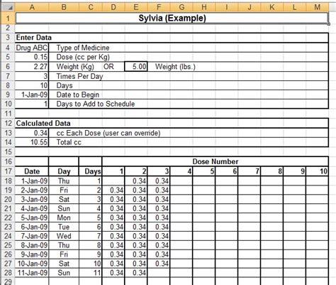 Medication Spreadsheet by Medication Spreadsheet Template Images Templates Design