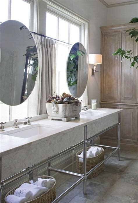 mirrors over bathroom sinks mirrors hung over windows interior design ideas