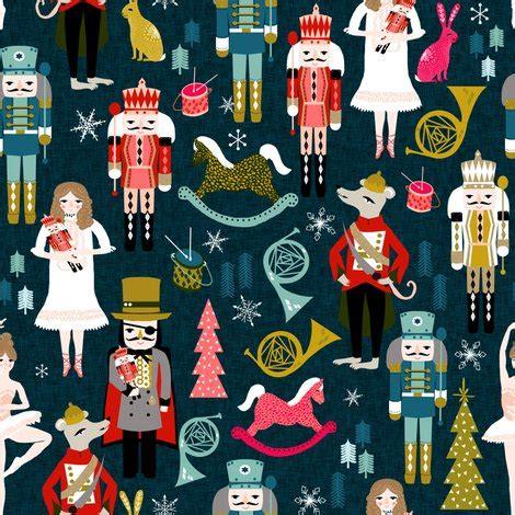 pier xmas party nutcracker nutcracker fabric xmas holiday christmas