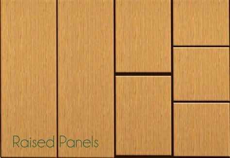 Raised Panel Wall Panels Mod The Sims Raised Paneled Walls
