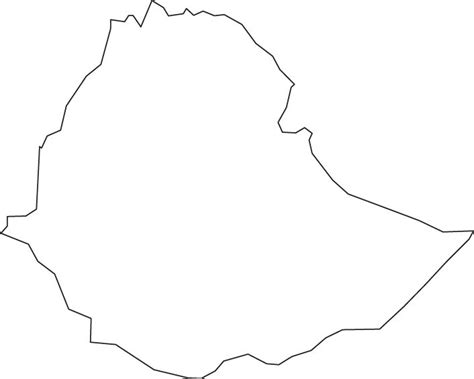 ethiopia map coloring page blank ethiopia outline map education christmas around