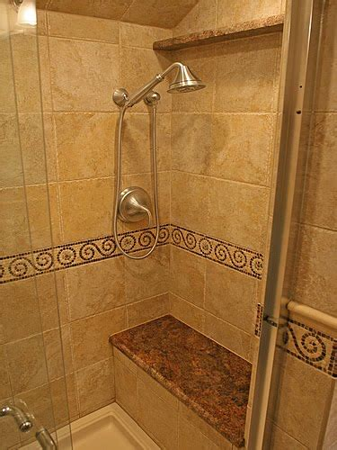 architecture homes bathroom shower tile ideas