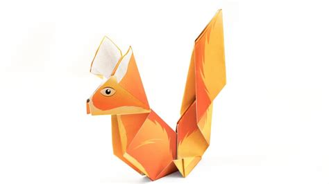 Origami Squirrel - how to make an origami squirrel 28 images http