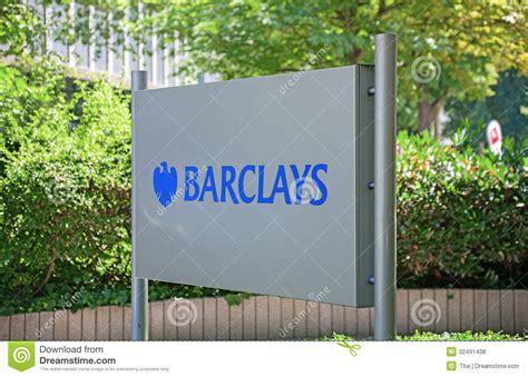 barclays bank plc frankfurt barclays plc editorial stock photo image 32491438