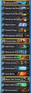 kolento deck kolento aggro jade shaman legend deck hs decks and guides