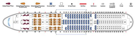 united 777 200 seat map boeing 777 200 777 united airlines