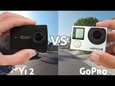 Gopro Xiaomi 4k xiaomi yi 2 4k review vs gopro 4k all