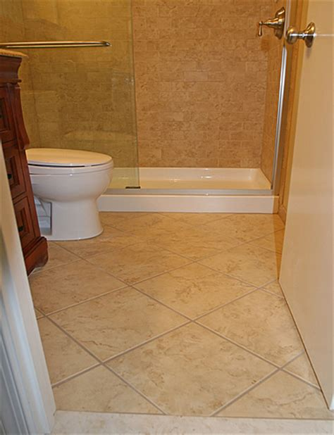 bathroom floor remodel bathroom remodeling fairfax burke manassas va pictures