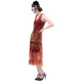 1920 s style paprika gold 1920 s style dresses flapper dresses to gatsby dresses