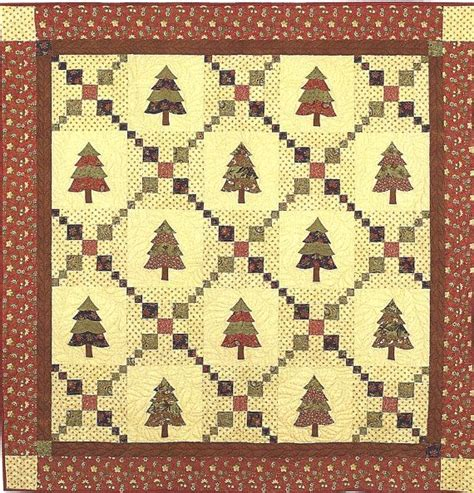 Bunny Hill Quilt Patterns by Classic Quilt Pattern Patchwork Pines Bunny Hill Designs