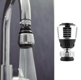 Faucet Keran Air Led 7 Warna Dengan Konektor filter keran air aerator 360 rotate silver jakartanotebook